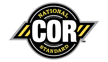 Certificate of recognition cor national logo